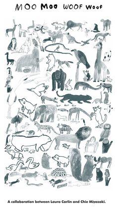 A collaboration between Laura Carlin and Chie Miyazaki