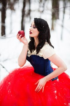 Snow White Fashion Photography | Jessica