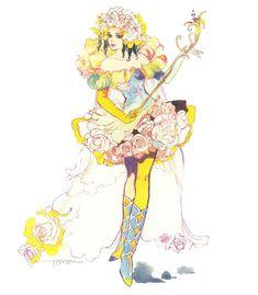 Princess White Rose from Saga Frontier