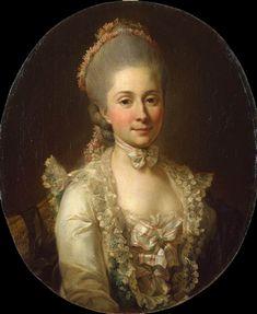 JUEL, Jens Jørgensen  Portrait of a Woman  1773-74  Oil on canvas, 64 x 55 cm  The Hermitage, St. Petersburg  (From Web Gallery of Art, www.wga.hu)