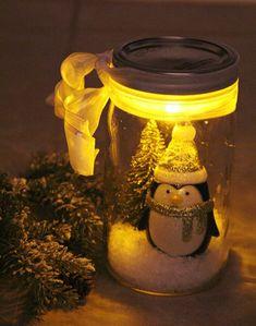 20 Karácsonyi befőttes üveg dekoráció ötlet