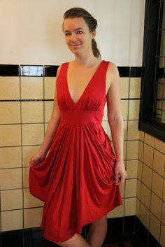 Reves Mecanique: Drape Drape dress