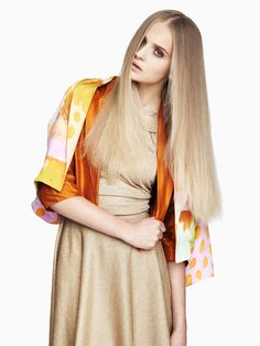 love her hair.   Mie Berg by Hordur Ingason for Fashion Gone Rogue
