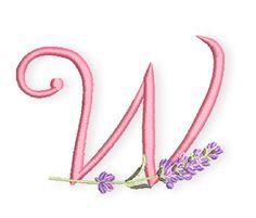 Es ist Donnerstag Mittag und damit Zeit für den nächsten Lavendel-Buchstaben.  Das W wie Waltraud, Wilhelmine und Walburga habe ich heute dabei. Gibt es eigentlich auch modernere Namen, die mit einem W beginnen? Irgemdwie will mir keiner einfallen ;-) Wanda? hm...    Egal, wofür Ihr das W verwenden möchtet, hier ist der Downloadlink für verschiedene Stickformate:  Lavendel-ABC-W  Hab ...