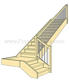 staircases of this type enable rationale use of the space needed for ...