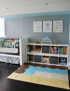 Toddler Room - Love the colors