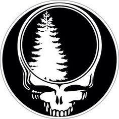 Grateful Dead SYF Pine Tree #Green   Steal Your Face   Pinterest