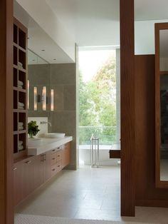 contemporary closet by Sutton Suzuki Architects