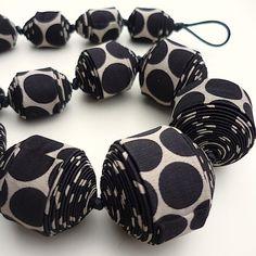 Cecile Bertrand, textile jewelry...!: