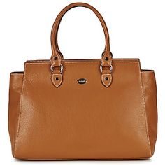 Mac Douglas BUFFLE NICKEL TREASURE M Marron  www.spartoo.com #handbag #bag