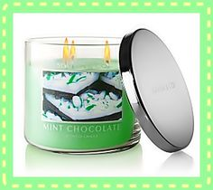 Mint Chocolate Scented Candel