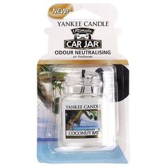 Yankee Candles Car Jar Ultimate - Coconut Bay™ Luxury car air freshener Added odour eliminators Lasts for weeks New Yankee, Mirror Illusion, Pots, New House Announcement, Unique Floor Plans, Fragrance Online, Painted Cottage, Black Candles, Car Air Freshener