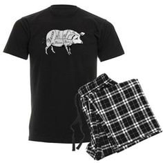 Pork Meat Cuts Pajamas