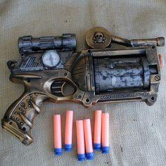 Steampunk nerf gun, Bwahahaha!