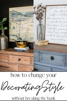 Weathered Oak Dining Table Makeover - Bless'er House Dining Table Makeover, Oak Dining Table, Wood Table, Dining Chairs, Fireplace Update, Faux Fireplace, Painted Furniture, Modern Furniture, Farmhouse Style