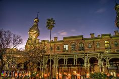 University of Tampa.  This ornate building has photo opportunities, inside and out!