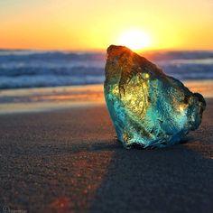 Sea Glass, multi-color, very rare