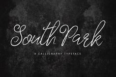 South Park Typeface by Face Lab Inc. on @Graphicsauthor