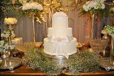 Resultado de imagem para mesa do bolo casamento foto