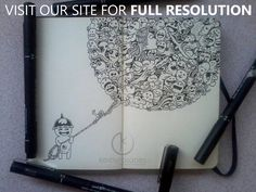 These Doodles by Kerby Rosanes Will Amaze You   CrispMe