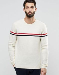 ASOS - PULL LéGER EN LAINE D'AGNEAU MAJORITAIRE AVEC RAYURES #style #fashion #trend #onlineshop #shoptagr