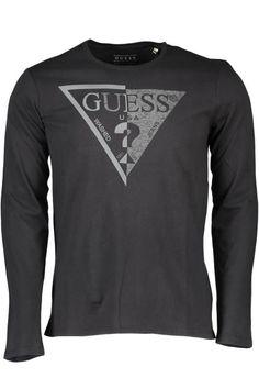 T-Shirt Uomo Guess Jeans (BO-M62I39I3Z07 A996) colore Nero