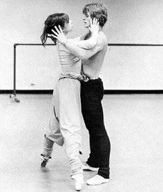 #Mikhail Baryshnikov and #Gelsey Kirkland - Ballet, балет, Ballerina, Балерина, Dancer, Danse, Танцуйте, Dancing, Russian Ballet