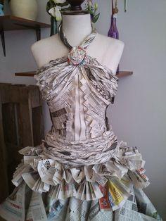 El blog de Crocosmia: Vestido de novia reciclaje