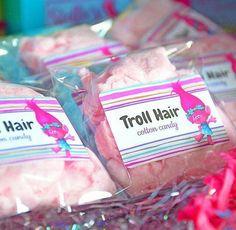 """Troll Hair"" party favors"