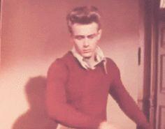 James Dean ~ GIF