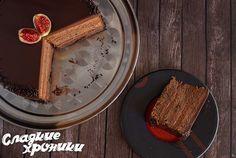 Трюфельный торт — самый шоколадный торт на планете!