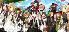 ♦◆ All together ~ SAO Alicization Underworld (full) (by abec) ◆♦