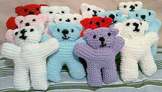Bears 1--Much simpler pattern than it looks!