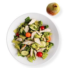 Green Goddess Salad with Chicken