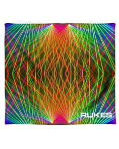 RUKES Pretty Lights All Over Print Blanket-full Festival List, Festival Gear, Rave Accessories, Pretty Lights, Get The Party Started, Blanket, Blankets, Cover, Comforters