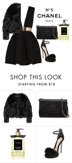 """Untitled #118"" by xvintageglamourx ❤ liked on Polyvore featuring Chanel, Altuzarra and Monique Lhuillier"