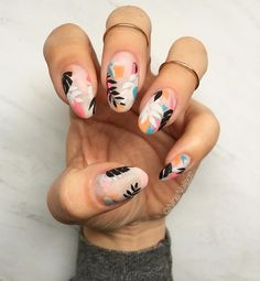 "2,835 Likes, 82 Comments - Nina Park. Nail Art. Boston. (@ninanailedit) on Instagram: ""I was so inspired by @boomnailsldn (as always) and I couldn't help but recreate their gorgeous…"""