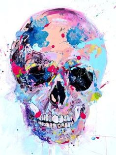 SKULLS watercolor painting - Yahoo Image Search Results