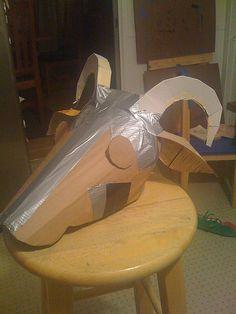 Más tamaños | Goat costume, 1st prototype | Flickr: ¡Intercambio de fotos!