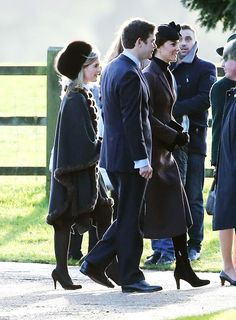 Royals & Fashion: Mass at Sandringham