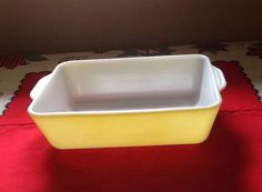 Pyrex Yellow 503 Refrigerator Dish by ContemporaryVintage on Etsy, $15.00