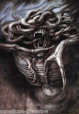 HR Giger Art Poster Print Poltergeist II The Great Beast Biomechanical Baphomet… Hr Giger Art, Hr Giger Alien, Arte Horror, Horror Art, Horror Film, Mark Riddick, Art Alien, Beast, Horror Monsters