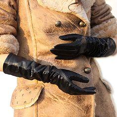 WARMEN Women's Fashion Shining Geniune Leather Long Eblow Driving Gloves (M, Black) WARMEN http://www.amazon.com/dp/B008JRRNSI/ref=cm_sw_r_pi_dp_No4Wvb03S40FN
