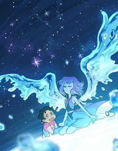 Lapis and Steven