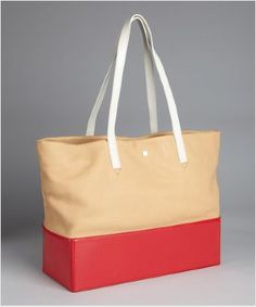 Pour la Victoire tote, on sale at Bluefly! {Fabulous for the pool or beach!}