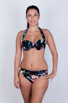 cd3e53cd425cc Bikini Bottoms – Holly Dae. Mid rise bikini bottom with fold over waistband  in our