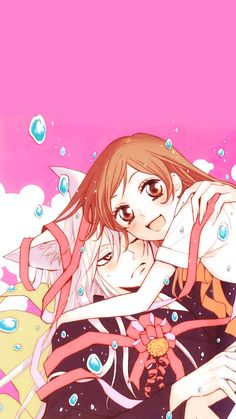 -- Anime, Kamisama Hajimemashita, Kamisama Kiss, Tomoe and Nanami Anime Boys, Couple Anime Manga, Manga Anime, Anime Art, Kamisama Kiss, Tomoe And Nanami, Chibi, Ciel Nocturne, Arte Sailor Moon