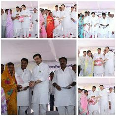 Suryoday Parivar honoured to be a aid for farmers & their family.Given insurance of Rs.10k and distributed seed bags.