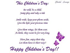 Children's Day quotes, poem on Children's Day,  kids poem, baby and mom, parenting, parenting quotes