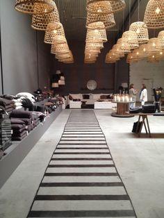 Such a wonderfull showroom Tine K Odense Denmark!